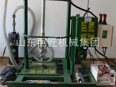 巨匠全自动电动打井机液压水井钻机民用打井机可拆解交流直流