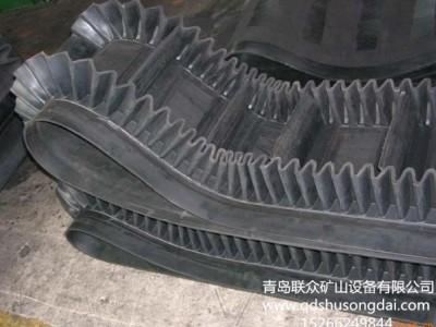 供应耐高温挡板输送带 波状裙边带 强力耐撕裂输送带