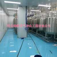 太原制药厂房净化车间洁净厂房设计、施工厂家找河北峰帆净化