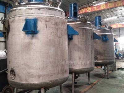 供应安微3000L不锈钢反应釜 木工胶反应釜订做