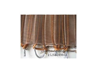 供应耐高温300度金属网芯输送带 钢网输送带