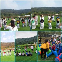 推荐一个江夏亲子游攻略,乐农新颖的游玩项目吸引着广大孩子们
