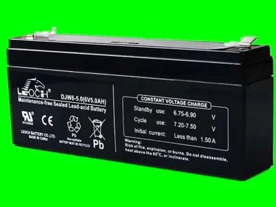 供应理士DJW6-5.0 6v5.0ah音响电子秤专用蓄电池