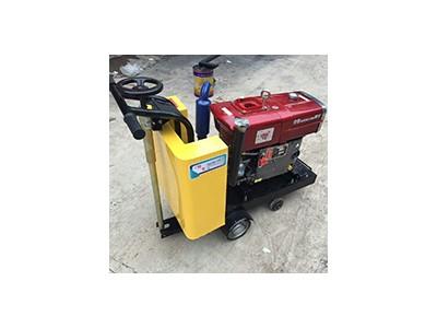 手推式马路切割机 热销500型混凝土切缝机 路面切割机