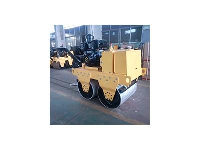 600型双钢轮柴油压路机 小型压路机 沥青路面压实机