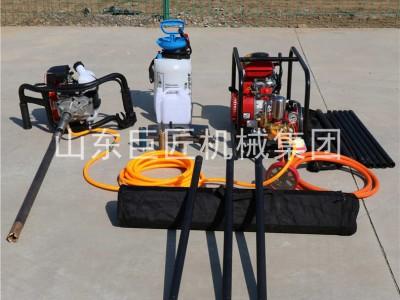 巨匠单人背包钻机地质勘探钻机取样器用于环境检测土壤分析