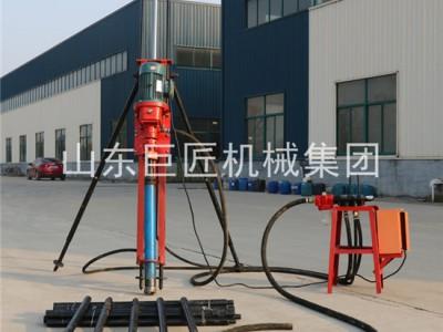 矿山水平打孔KQZ-70D气电联动15米潜孔钻机