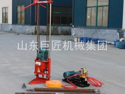 华巨QZ-2D型三相电轻便取样钻机小型岩心钻 勘探30米
