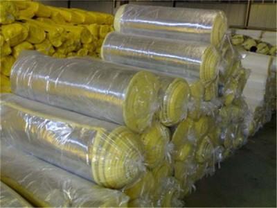 钢结构厂房专用玻璃棉卷毡 铝箔贴面玻璃棉卷毡金威直销