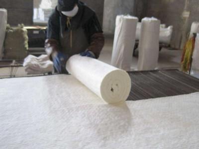 鲁阳厂家直销耐高温硅酸铝针刺毯 硅酸铝管壳