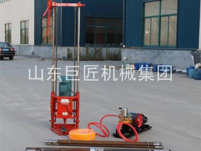 工程取样钻机QZ-2D物探钻孔取芯机小型勘察钻机地质勘探