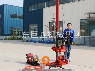 巨匠轻便地质钻机QZ-3岩石取芯机地质勘探地表取样钻机
