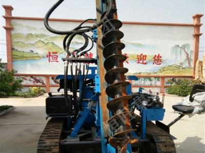 济宁螺旋打桩机厂家 一次性成孔速度快的打桩机