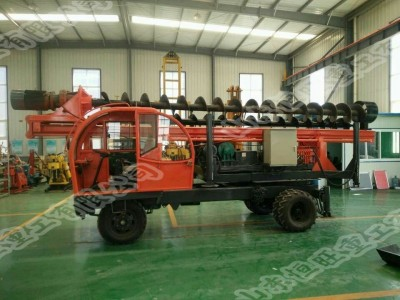 济宁轮式螺旋打桩机厂家 一次性成孔速度快的打桩机