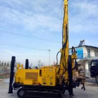 山东济宁气动钻机生产厂家  恒旺履带式气动钻机