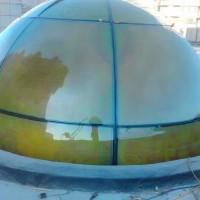 北京穹顶厂家 清真寺 钟楼 白钢 铜板玻璃穹顶加工制作安装