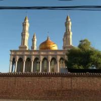 上海市穹顶厂家清真寺钟楼白钢铜板玻璃穹顶加工制作安装