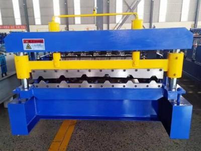 900墙面板彩钢压瓦机实心轴彩钢设备单瓦彩钢压瓦机