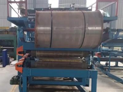 黑板复合板设备主机6米夹芯岩棉复合板生产设备