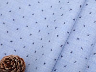 上海汇纺纺织提花面料全棉液氨免烫衬衫面料厂家