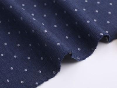 上海汇纺纺织提花面料全棉液氨免烫衬衫面料现货供应