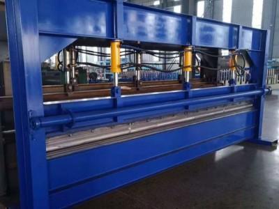 液压4米折弯机压0.8mm彩钢板4米折弯机