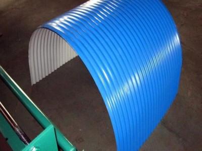 彩钢防雨罩 皮带机防雨罩 南通翔展彩钢厂家直销