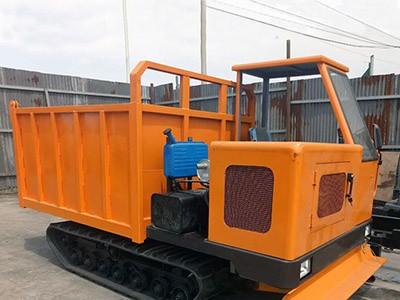 5吨履带运输车价格 生产厂家直销自卸翻斗履带拖拉机 工程履带