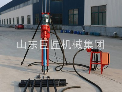 气电联动浅孔钻机KQZ-70D边坡支护凿岩设备