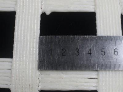 聚酯纤维网涤纶经编格栅阻燃柔性网 安装便捷