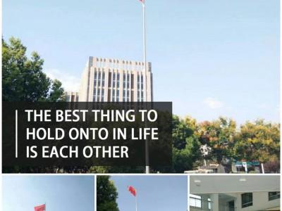 徐州市旗杆旗帜厂铜山区不锈钢锥形旗杆 电动旗杆 变节旗杆