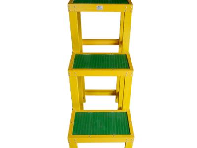 山东绝缘凳高低 玻璃钢踏板 绝缘台阶2层厂家