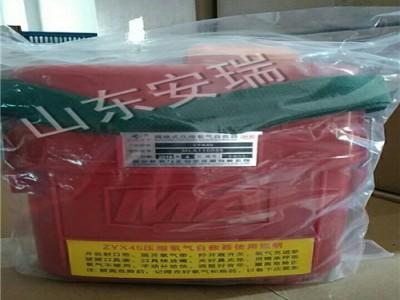 山东ZYX-45压缩氧自救器 45分钟压缩氧自救器低价销售