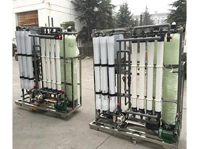 厂家供应绍兴市去离子水,RO反渗透纯水处理设备厂