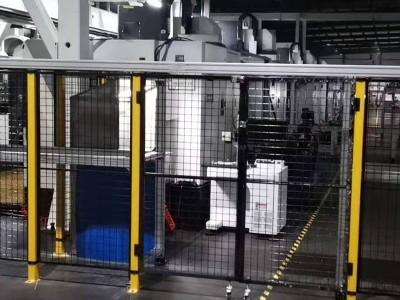 机器人护栏定制 机械手安全防护栏