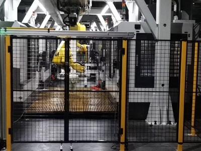 机器人护栏 工业机器人安全护栏厂家