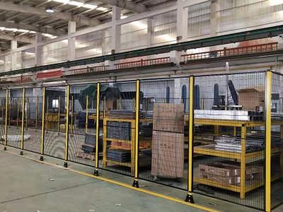 机器人防护网定制 机器手防护罩厂家