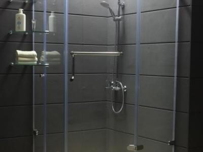 郑州顺鑫玻璃隔断淋浴房鱼缸