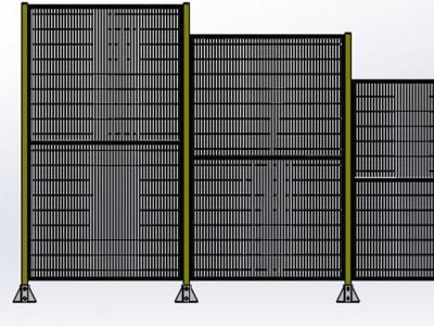 工业机器人安全围栏定制