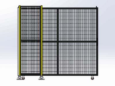 铝型材围栏定制 铝合金安全护栏厂家