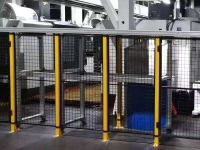 焊接工作站安全圍欄廠家