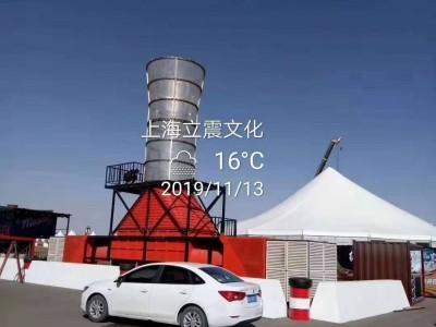 垂直风洞大型游乐暖场道具出租,出售