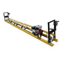 7米混凝土振动梁价格修路面震平尺框架式摊铺路机