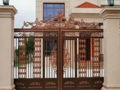 静海区铝艺别墅大门铝合金围墙护栏要如何选择