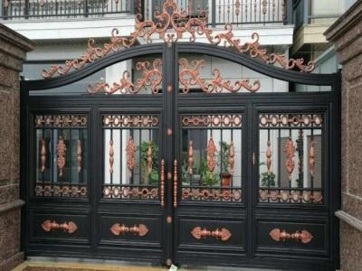 河北新河县庭院欧式大门院墙栏杆服务省钱