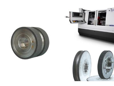 供應發動機凸輪軸、曲軸高效粗、精磨陶瓷結合劑CBN砂輪