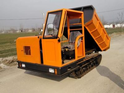 翻斗自卸运输搬运车 小型山地履带式运输车