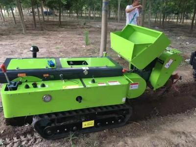 小型果园开沟机 果园旋耕施肥机大棚开沟施肥机