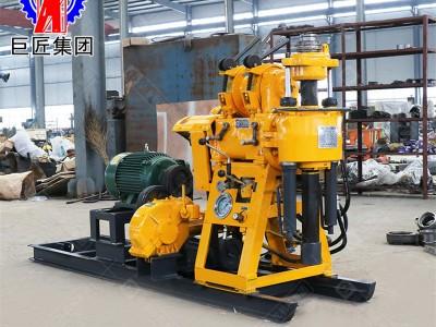 华夏巨匠HZ-130Y液压打井机 百米水井钻机 民用打井设备