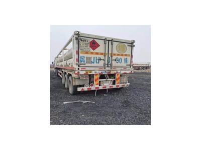 出售2台6管cng压缩天然气运输车 cng运输车尾